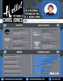 creative resume graphic web designer by ochrisjoneso