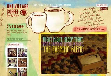 best coffee website coffee shop website 25 inspiring caffeinated design exles
