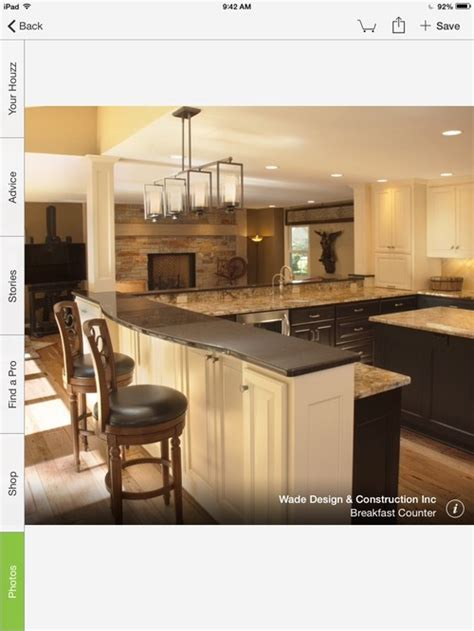 Houzz Kitchen Islands With Seating by Counter Height Or Bar Height Kitchen Seating