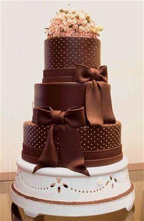 Hochzeitstorte Schokolade by Hochzeitstorten Braun Schokolade Hochzeitstorte