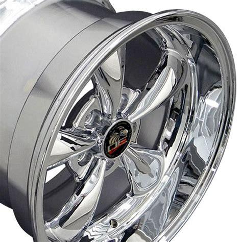 C 0015 Wheels 17 Ford Gt 17 quot chrome bullitt wheel 17x10 5 fits 94 04 mustang 174 gt v8 v6 ebay