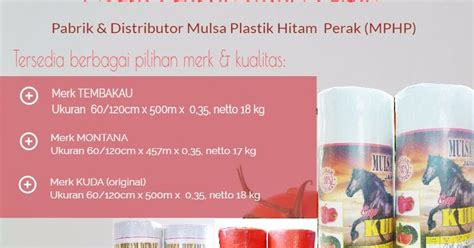 Harga Mulsa Merk Bell jual mulsa plastik untuk pertanian tambak kelebihan