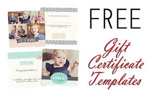 Photoshop Gift Certificate Template Free Gift Certificate Photoshop Templates From Birdesign