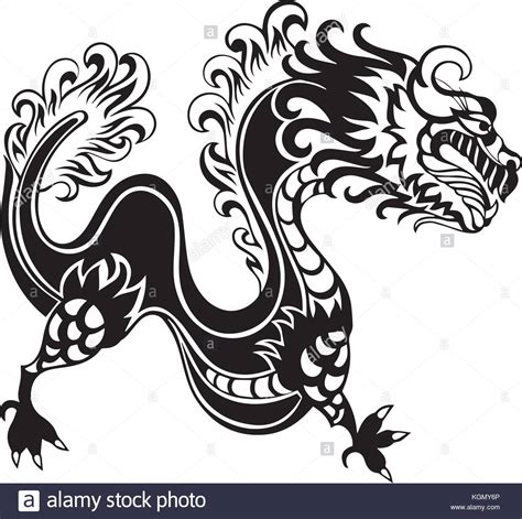 chinese dragon tattoo stock vector asian stock photos asian
