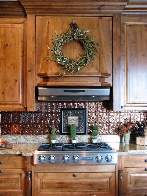 35 Best Images About Backsplash On Pinterest The Cabinet Copper Kitchen Backsplash