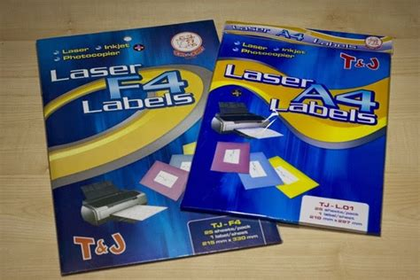 Murah Tom Jerry Cd Dvd Label Glossy 50 Sheets For 100 Cd Limited supplier stationery alat tulis kantor label sticker tom