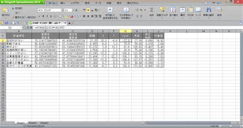Kingsoft Spreadsheet by