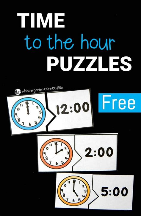 the hour of the time to the hour puzzles