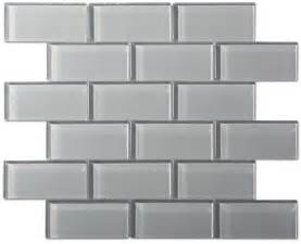 Types Of Backsplash For Kitchen 9 95sf Free Shipping Smoke Gray Glass 2x4 Subway Tile
