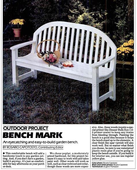 plans for garden bench garden bench plans woodarchivist