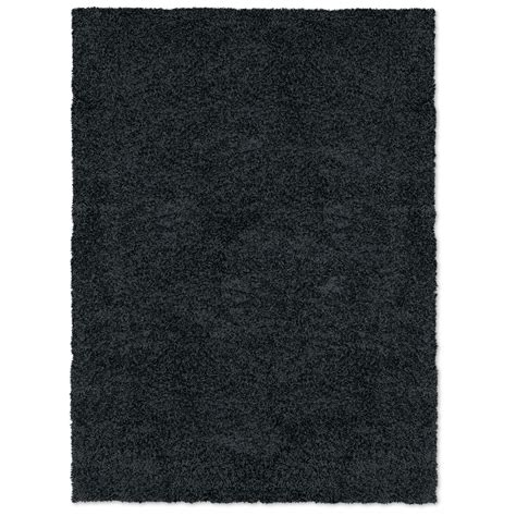 Domino 8 Black domino shag 5 x 8 area rug black american signature