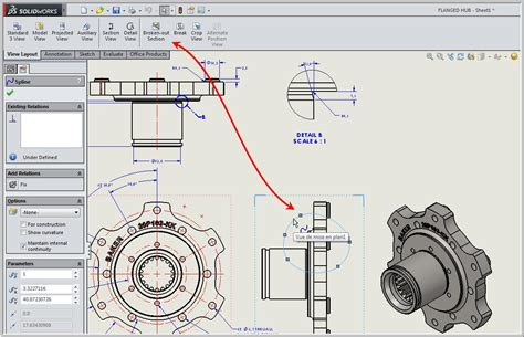 solidworks section view broken out section view in a drawing solidxperts blog