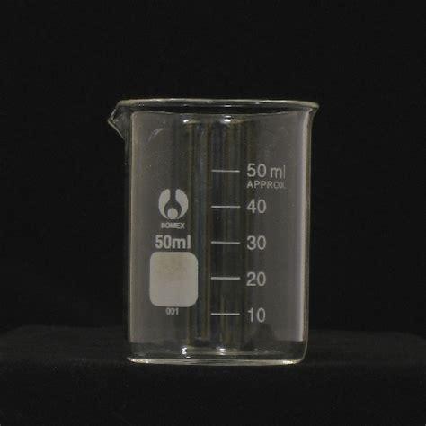 Gelas Ukur Graduation With Glass Stopper 50 Ml 50ml glass beaker low form graduated laboratory glassware beakers ctechglass