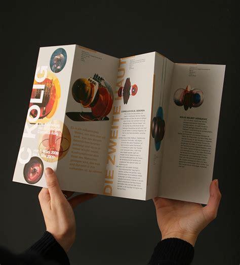 Museum Brochure Design On Behance Museum Brochure Template