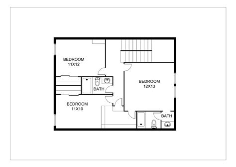 a floor plan estate 2d floor plans design rendering sles