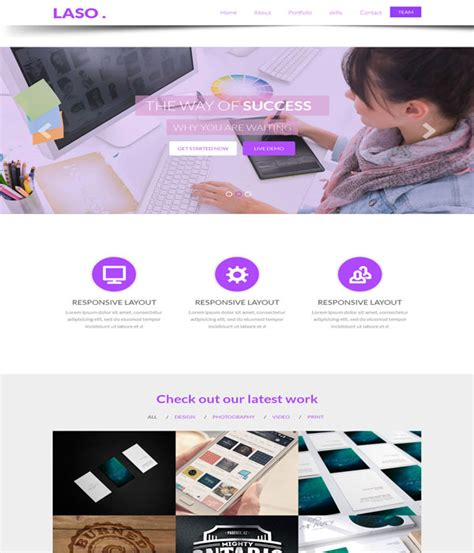 55 Awesome Personal Vcard Resume Website Templates Wpfreeware Personal Page Template Bootstrap