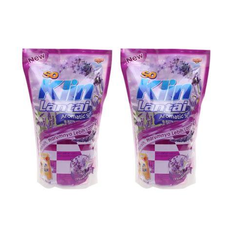Pembersih Lantai So Klin jual so klin pembersih lantai floral lavender ungu pouch