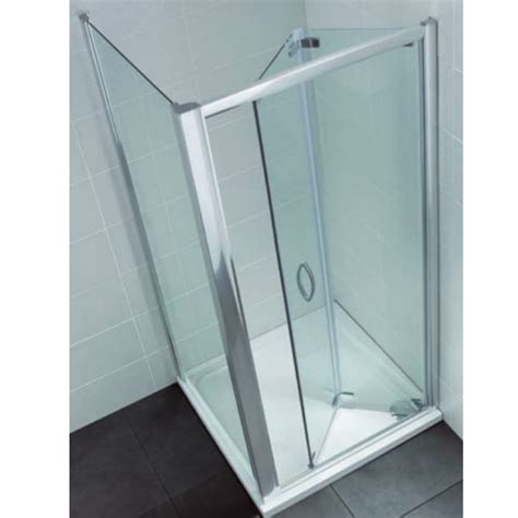 Shower Folding Door 700mm Bifold Shower Door 700mm Semi Frameless Bi Fold Shower Door White April Identiti2