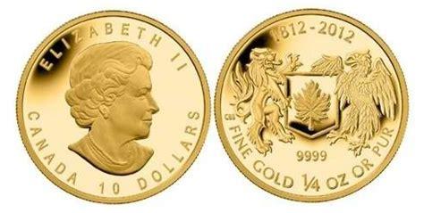 cual es la moneda de canada moneda conmemorativa de 10 d 243 lares oro para la guerra de