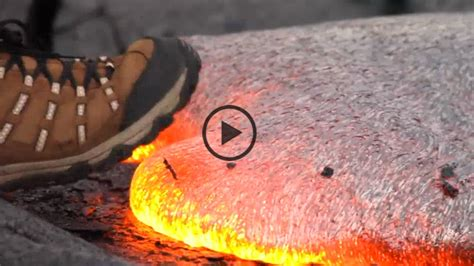 How Are Lava Ls Made by What Happens When You Step On Lava The Weather Channel