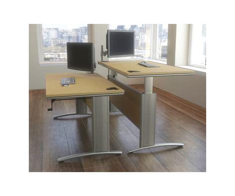 Trestle Office Desk Trestle Height Adjustable Office Desk Tag Office