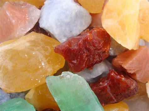 colorful calcite rock lapidary rock tumbler ebay