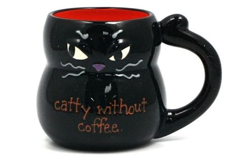 Coffee Mugs Cat And Coffee Lovers Will Purr With Delight With This
