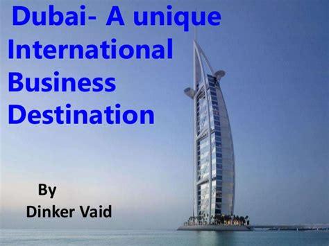 International Mba In Dubai by International Business In Dubai