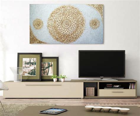 cuadros para el salon estudio delier cuadro mandala salon