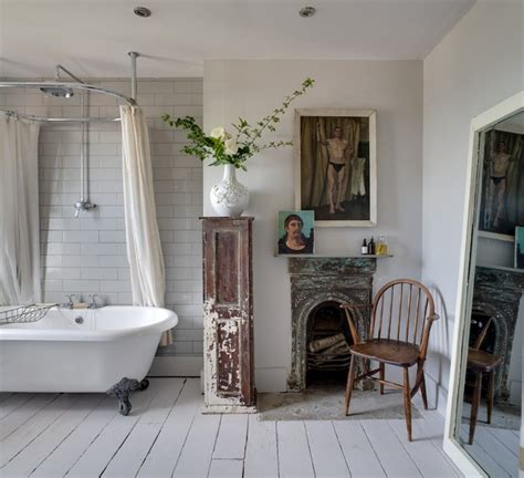 Modern Shabby Chic Bathroom by And Chic Bathroom Design