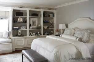 Gray And White Bedroom by Gray And White Room Transitional Bedroom New England