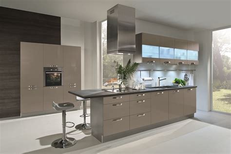 High Gloss Grey Kitchen Cabinets Basalt Grey Laminate Kitchens From Lwk Kitchens