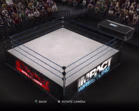Wrestling arena impact wrestling arena for wwe 13
