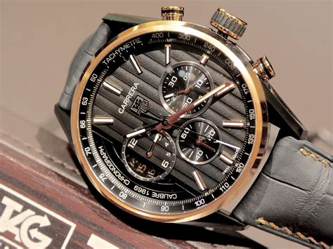 carrera watches hands on review carrera calibre 1969 the home of tag