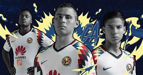 imagenes nike club america nike club am 233 rica 17 18 away kit released footy headlines