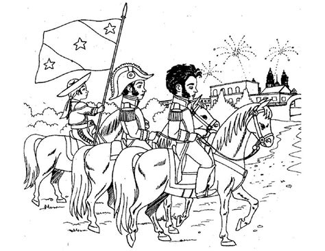 imagenes para colorear independencia de mexico pinto dibujos independencia de m 233 xico para ni 241 os