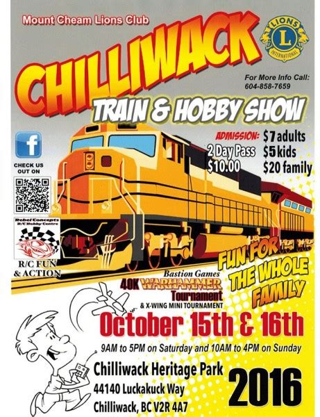 gnrhs gnrhs at mt cheam lions club train and hobby show