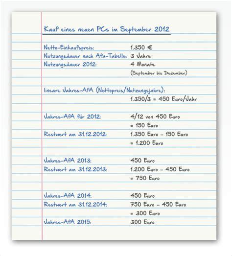 Kleinunternehmer Rechnung Steuer Absetzen Steuern Sparen Im B 252 Ro Ratgeber