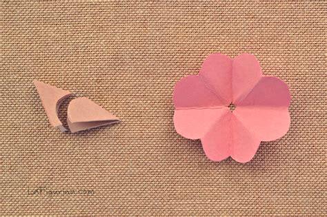 tutorial fiori di carta pin come una foglia charlottes world on