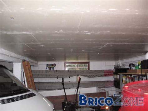 isolation plafond sous sol garage