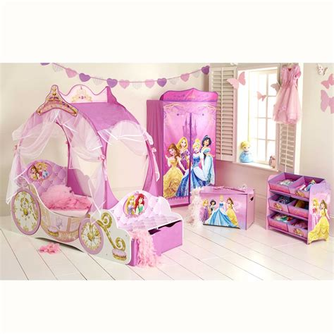 disney princess carriage toddler bed disney princess carriage junior toddler bed new with storage ebay