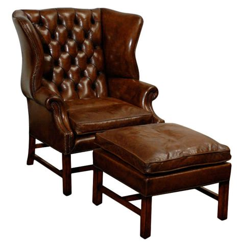 owletts tufted wing chair wide  stdibs