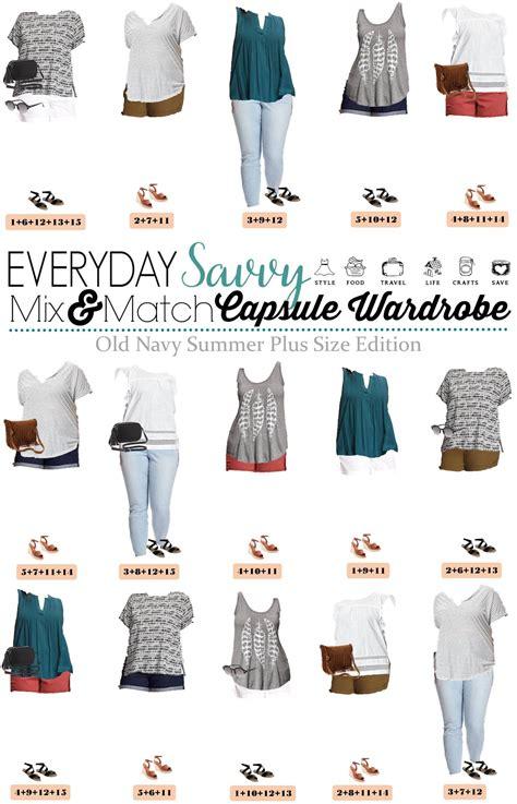 Capsule Wardrobe Plus Size by Summer Navy Plus Size Capsule Wardrobe