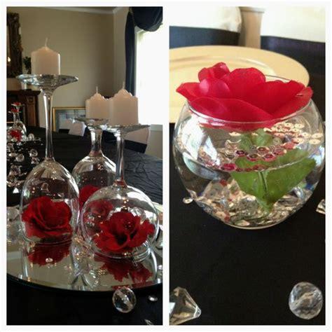 Rose Wine Glass Centerpieces Wedding Planning Pinterest Wine Glass Wedding Centerpieces