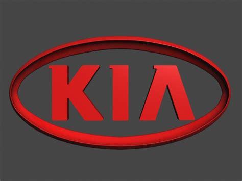 Kia New Emblem Kia Logo 3d Model Max Obj Cgtrader