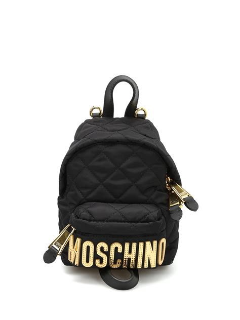 Lettering Backpack logo lettering small backpack by moschino backpacks ikrix