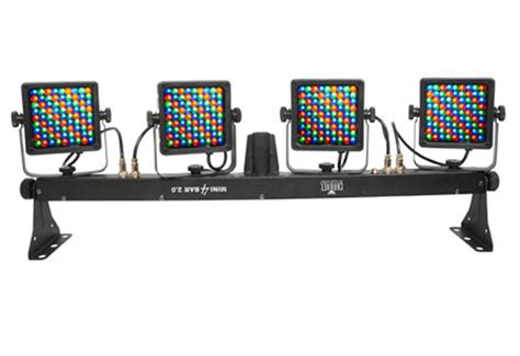 stage lighting mounting bars chauvet dj mini bar 2 0 portable color led stage light