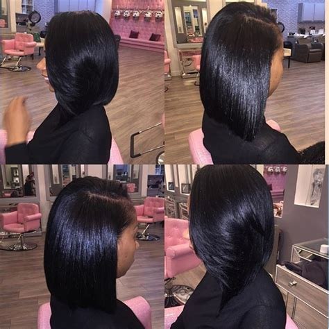 looking for sew in weave hairdressers for black women in or near jackson ms full natural looking bob sew in hair love pinterest