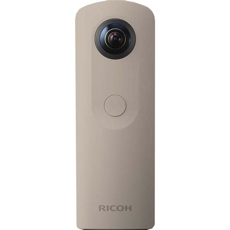 ricoh theta sc beige by fujishopid ricoh theta sc beige 360 compact cameras