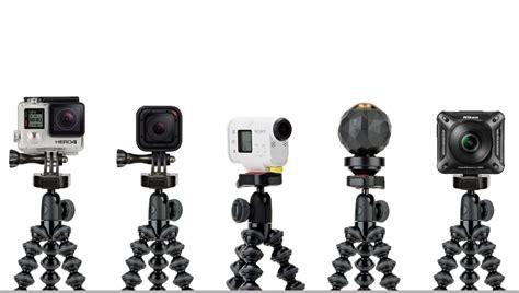 Mini Tripod 360 Derajat Ballhead Rotasi For Gopro Xiaomi Yi Smartphone gopro tripod gorillapod tripod joby